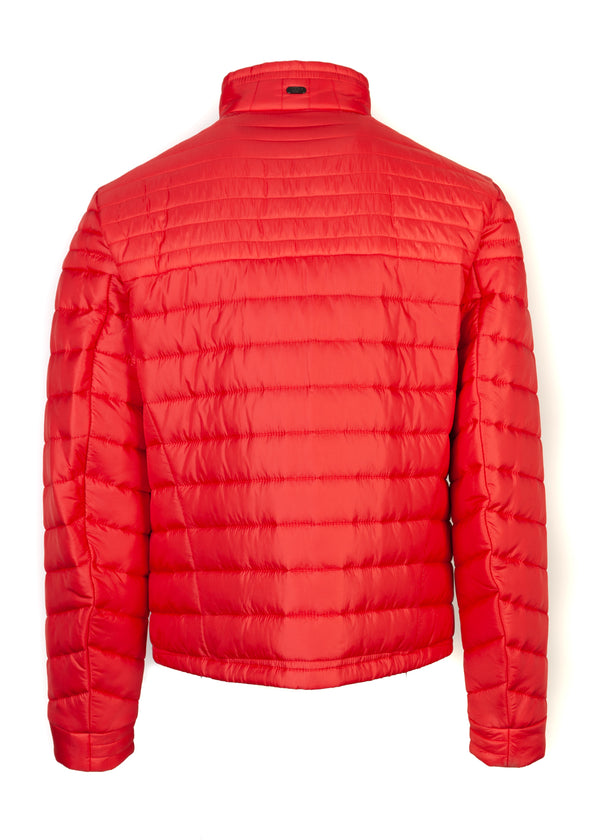 Hugo Boss Mens Red Thermo Jeon 1 Golf Down Lightweight Jacket - Tribeca Fashion House