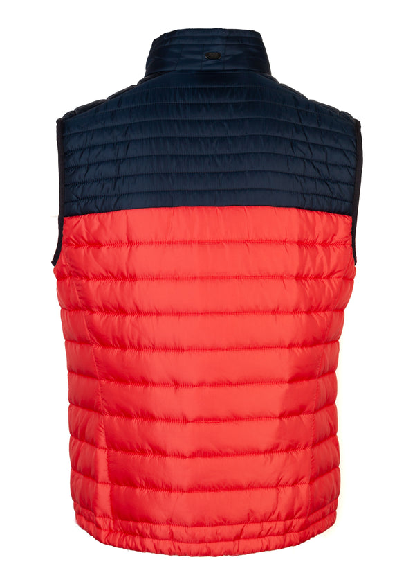 Hugo Boss Mens Red Thermo Veon Golf Lightweight Vest - ACCESSX