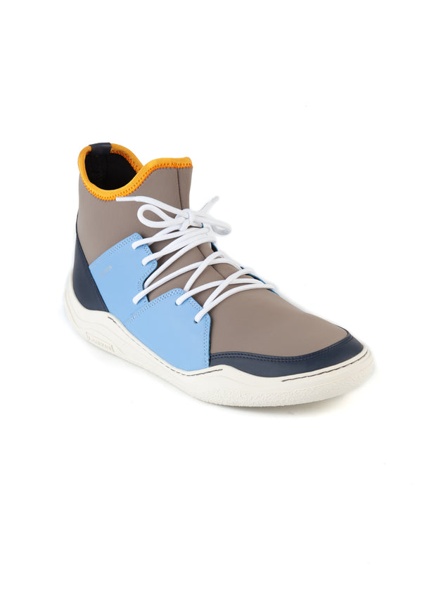 Lanvin Mens Knit Lace Up Neoprene High Top Diving Sneakers - Tribeca Fashion House