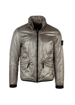 Stone Island Mens Taupe Pertex Quantum Light weight Windbreaker - Tribeca Fashion House