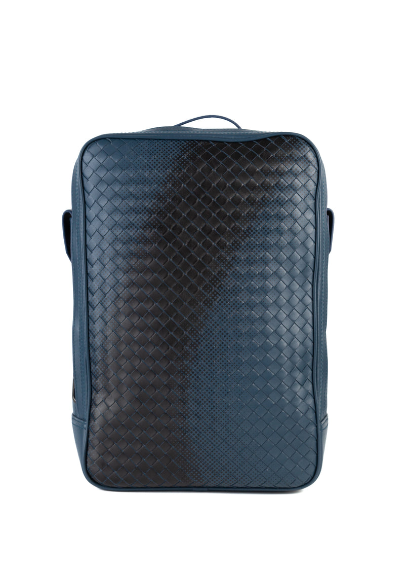 Bottega Veneta Mens Blue Tourmaline Backpack - ACCESSX