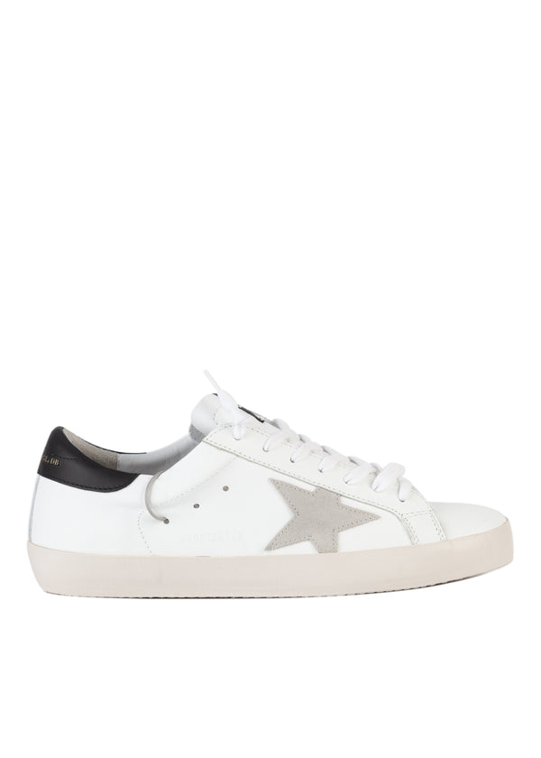 Golden Goose Mens Superstar Clean Leather Sneaker - ACCESSX