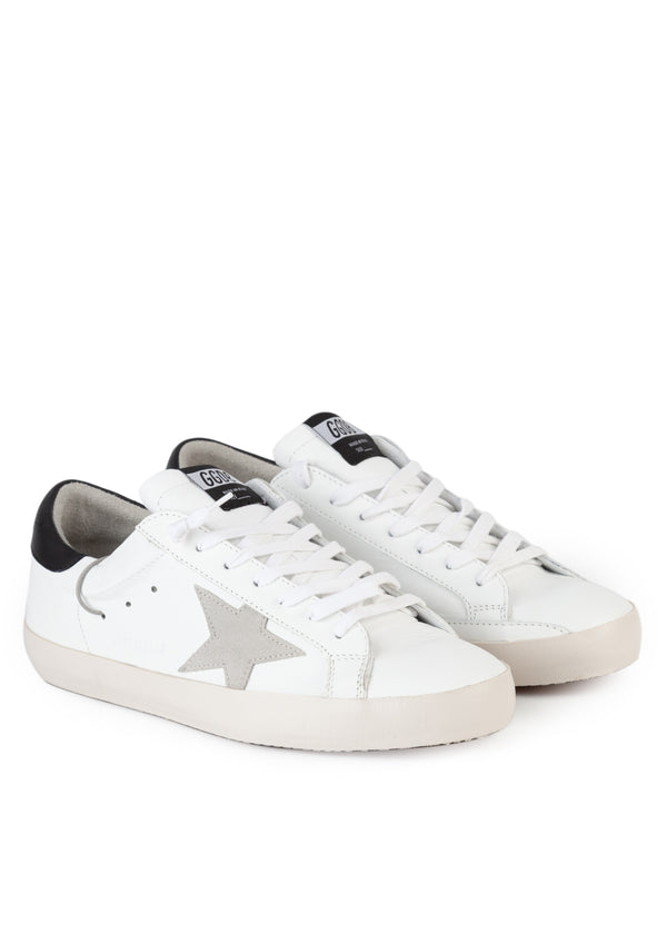 Golden Goose Mens Superstar Clean Leather Sneaker - Tribeca Fashion House