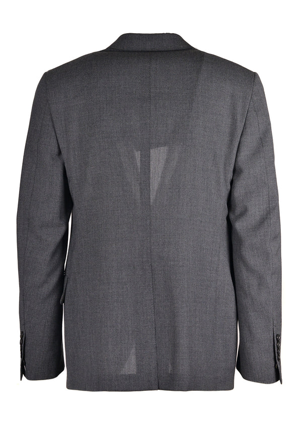 Tom Ford Mens Dark Grey Wool Two Button Shelton Jacket Blazer - Tribeca Fashion House