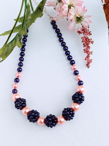 Necklace Blackberry by Oksana
