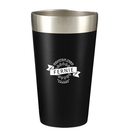 Mountain Town Black Insulated Cup