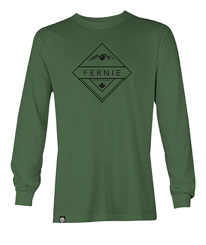 Fernie Diamond Long Sleeve - Clover