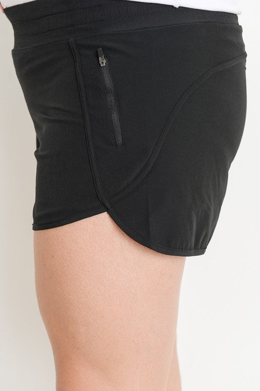 Athletic Shorts with Liner +