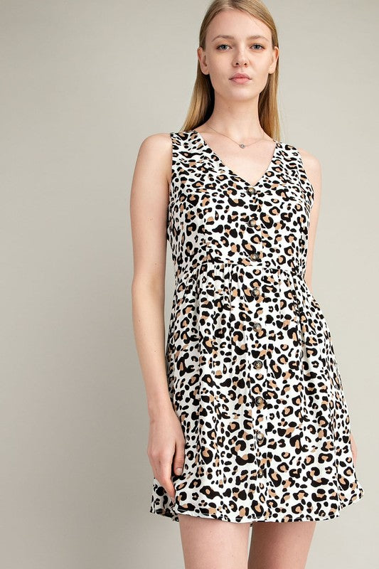 Paige Leopard Dress +
