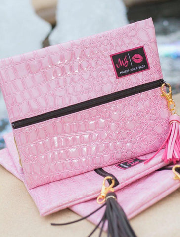 Blush Meredith Makeup Junkie Bag