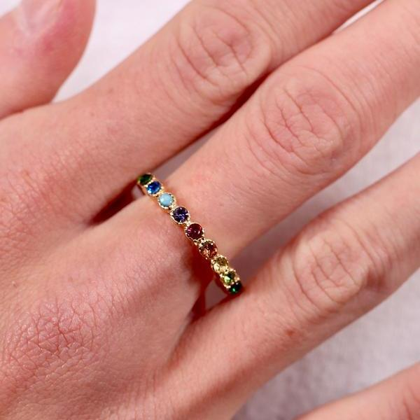 Renni Multicolor Ring