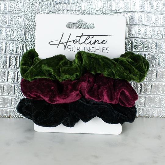 Accessories - Hotline Velvet Scrunchies