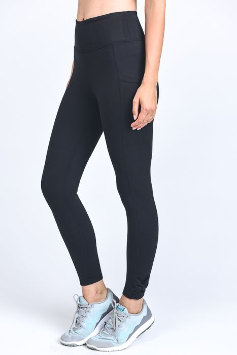 Nicole Full Leggings with Bow accent