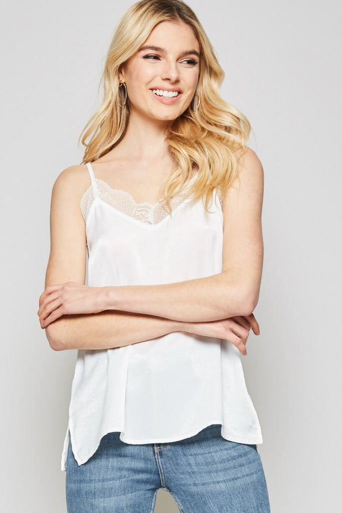 Aria Lace Tank +