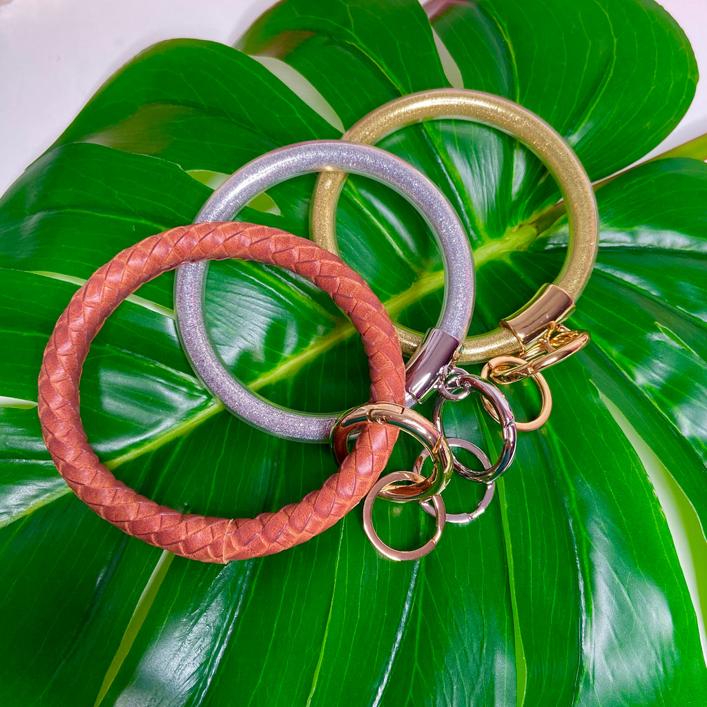 Keychain Bangle - 3 colors!