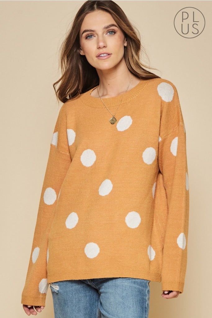 Marigold Dot Sweater