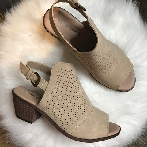 Cheyenne Cutout Booties