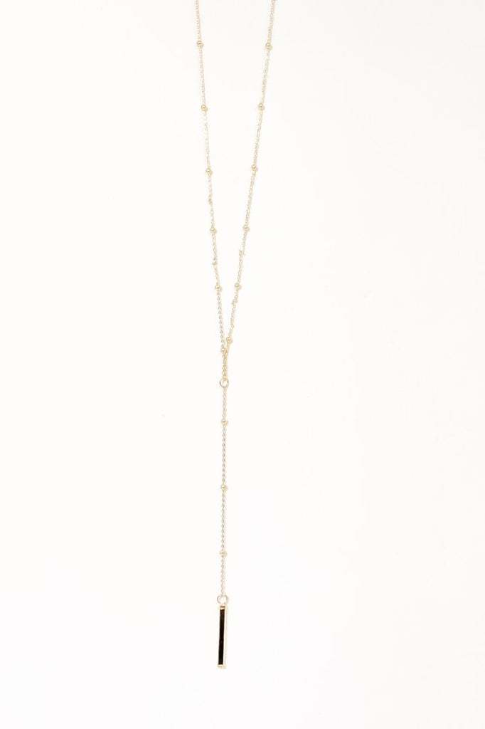Emmy Y Split Necklace
