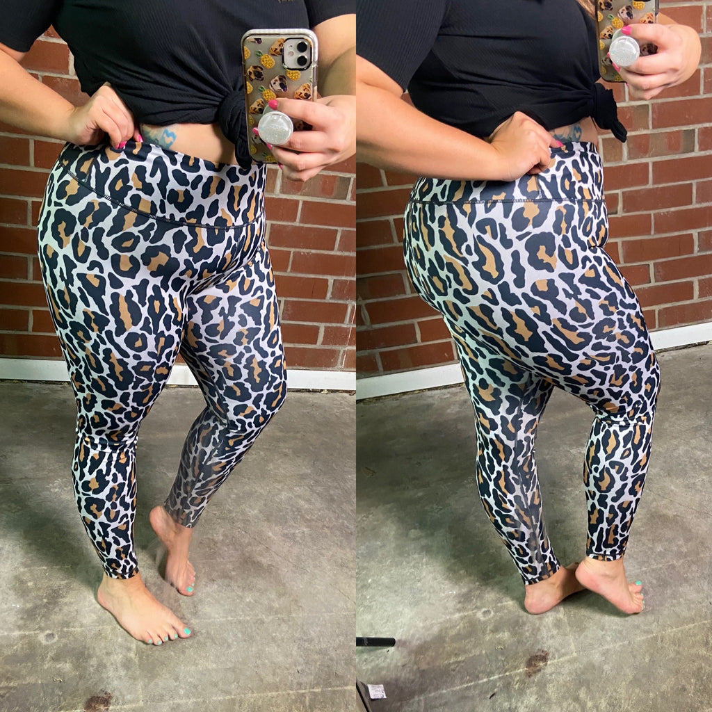 Leopard Leggings (limited sizing)