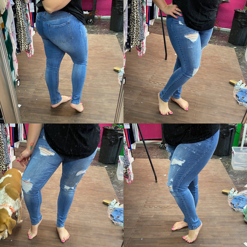 Abby Midrise Skinny Jeans