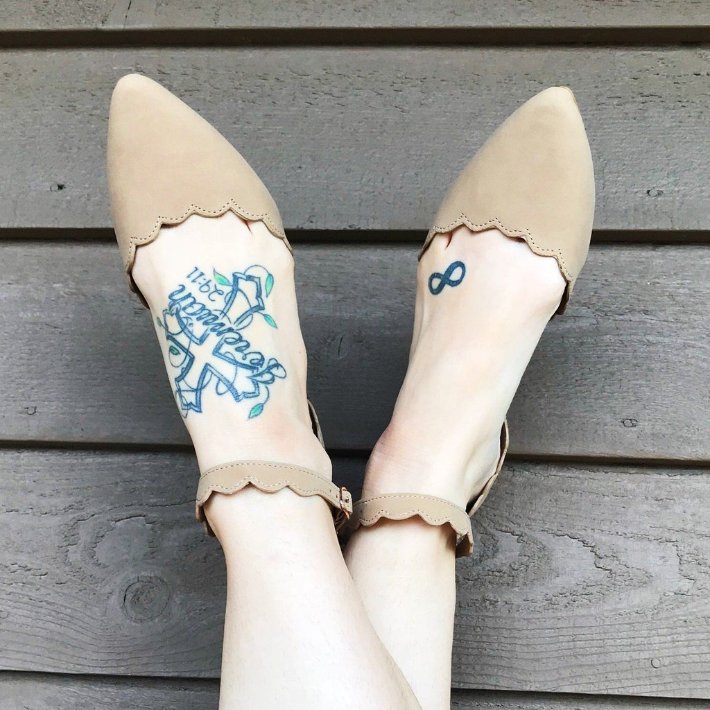 Shoes - Savannah Scallop Flats - 2 Colors!