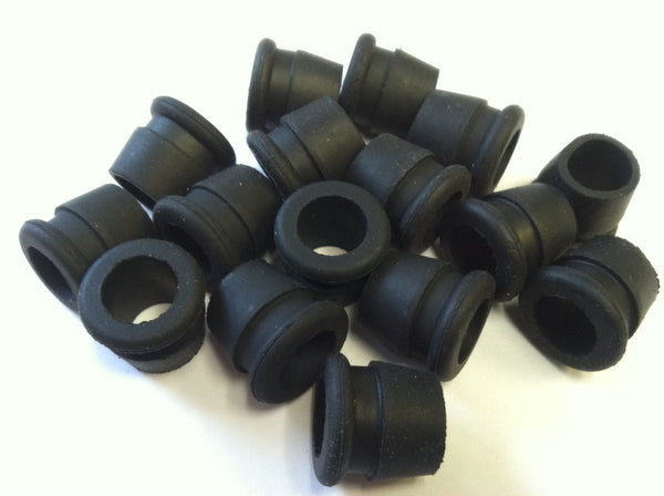 10mm Tapered Grommet (Black) (25 Count)