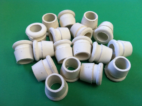 10mm Tapered Grommet (White) (25 Count)