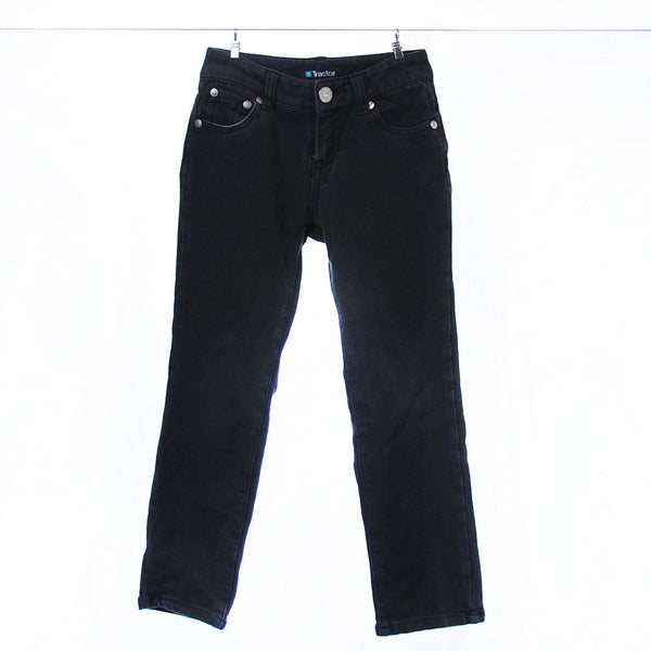Tractor Black Stretch Jeans