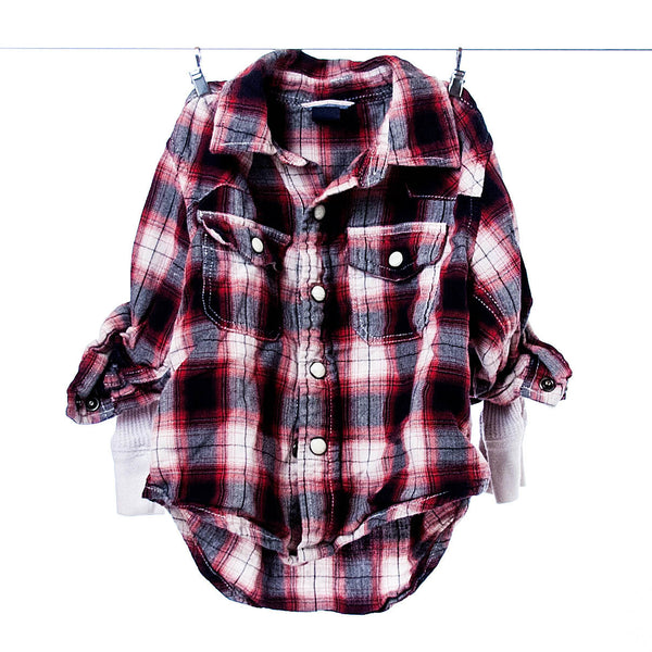 BabyGap Boys Plaid Button-down Shirt