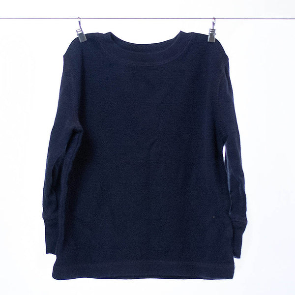 BabyGap Boys Navy Long Sleeve T-shirt