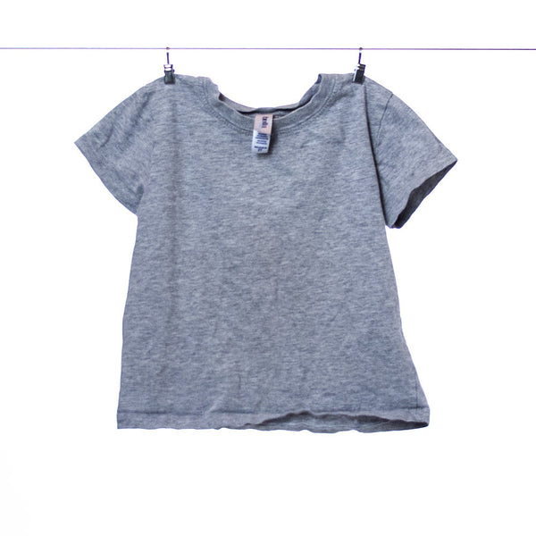 Bella Baby Gray Jersey Tee, Size 2T