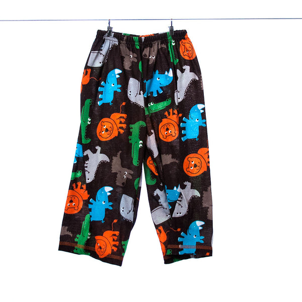 Just One You Brown Pants with Animals 2T