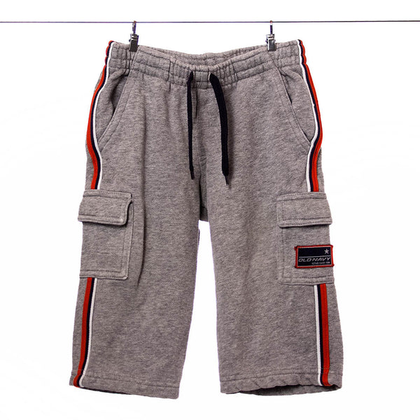 Old Navy Boys Gray Cargo Sweat Pants