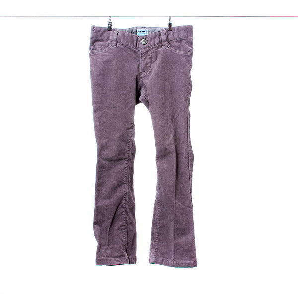 Old Navy Girls Gray Corduroy Jeans, Size 4T
