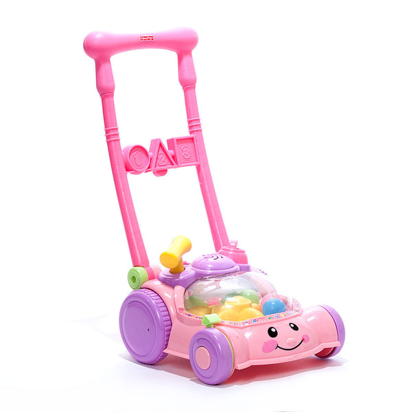 Fisher Price Pink Push Popper