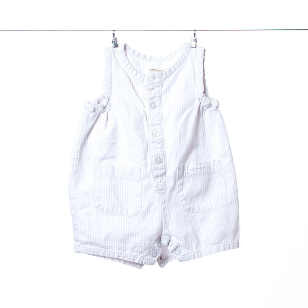 Baby Gap Cream Colored Striped Romper, Size Small (3-6 Months)