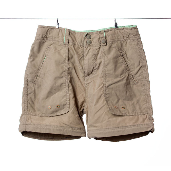 REI Girls Tan Water/Outdoor Shorts, Size L (10-12)