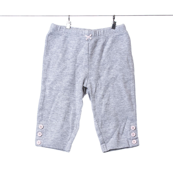 Carter's Grey Casual Sweats for Girls, Size 6 Months
