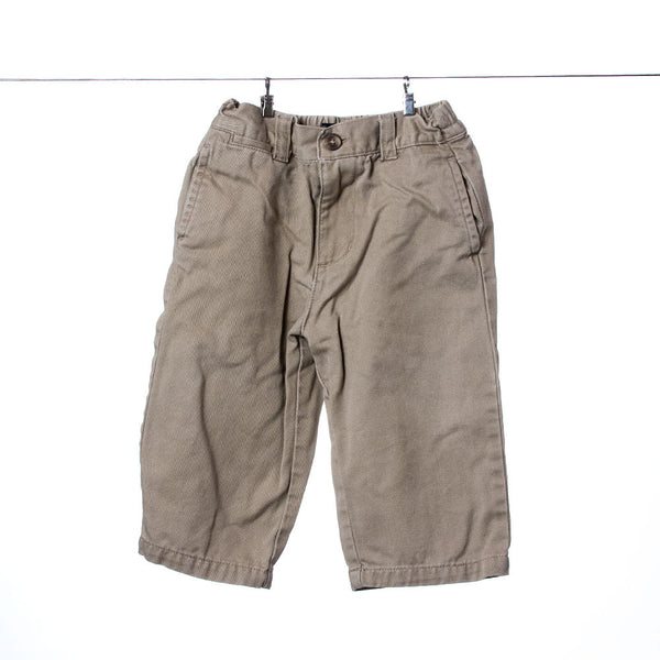 Children's PLACE Boys Tan Khakis, Size 12 Months