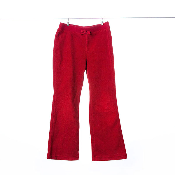 Gymboree Girls Red Fleece Sweat Pants, Size 5