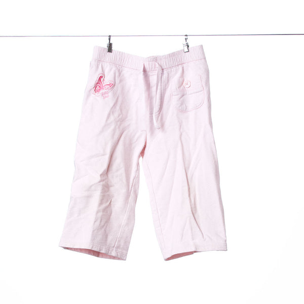 BabyGap Girls Pink Butterfly Casual Pants, Size 3T