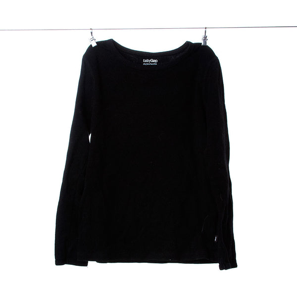 Baby Gap Playtime Favorites Collection Black Long Sleeve T-Shirt Size 5T