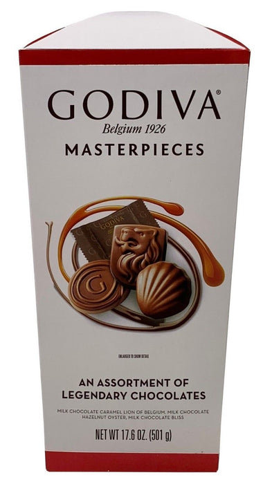 Godiva Masterpieces An Assortment of Legendary Chocolates 17.6 OZ