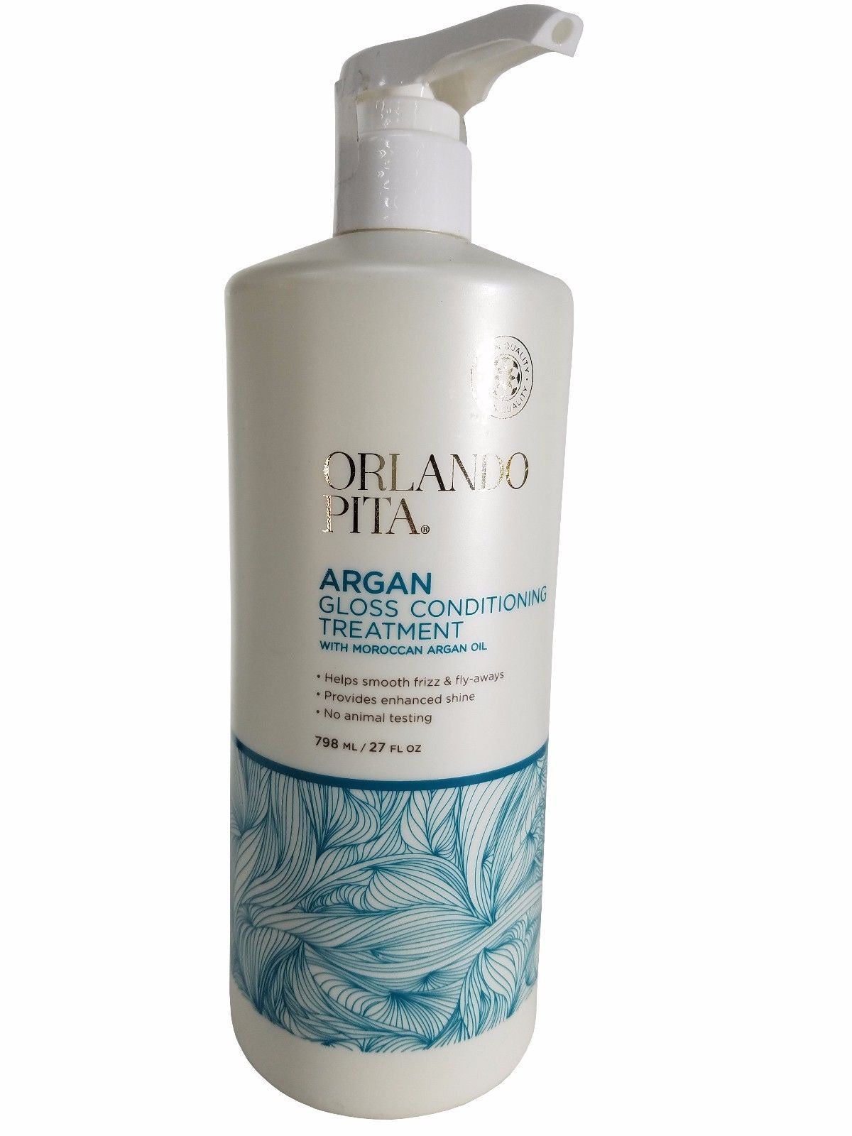 Orlando Pita Argan Gloss Conditioning Treatment with Moroccan Argan Oil 27 fl oz