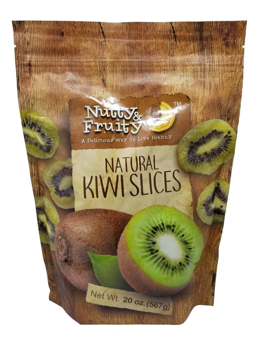 Nutty & Fruity Natural Kiwi Slices from Turkey 20 OZ