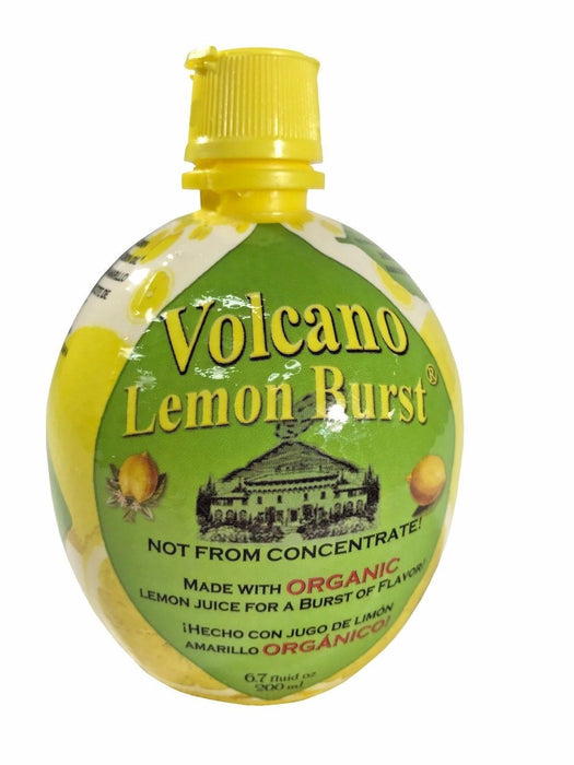 Volcano Lemon Burst Organic 6.7 FL OZ