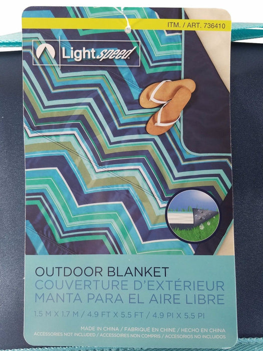 Lightspeed Waterproof Outdoor Blanket 4.9 x 5.5 ft