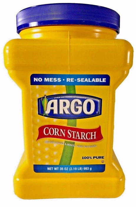Argo Corn Starch 100% Pure Thickens Sauces & Gravies Great for Baking 35 OZ