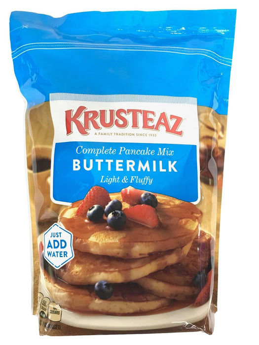 Krusteaz Complete Buttermilk Pancake Mix Light & Fluffy 10 LB