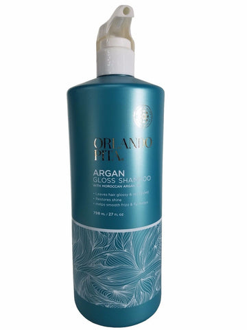 Orlando Pita Argan Gloss Shampoo with Moroccan Argan Oil 27 fl oz